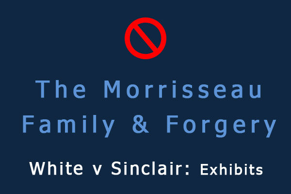 The Morrisseau Family & Alleged Forgery