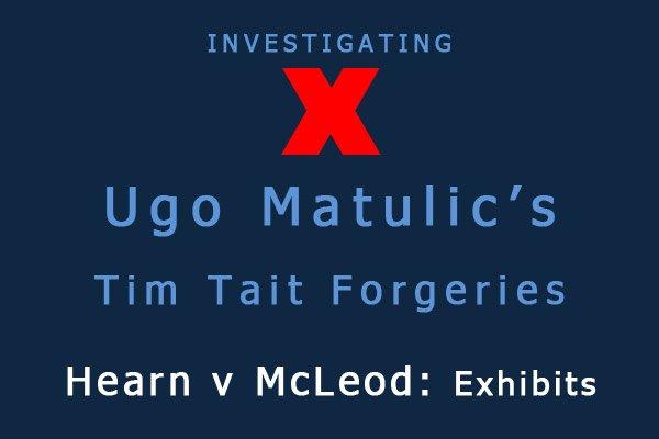 Exploring Ugo Matulic's Purported Morrisseaus