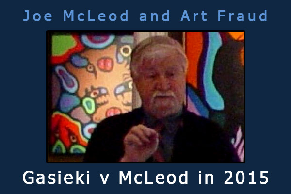 Joe McLeod : 2015 | 2019 Superior Court Fraud Judgments