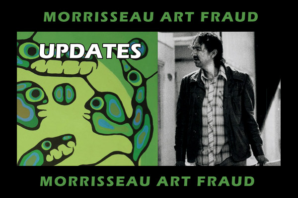 THERE ARE NO FAKES: Morrisseau Art Fraud Updates